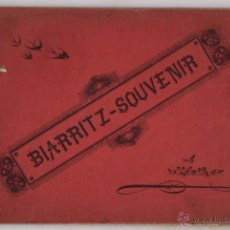 Fotografia antica: ALBUM SOUVENIR DE FOTOTIPIAS BIARRITZ. FRANCIA. CIRCA 1900. CLICHÉ G. OUVRARD.. Lote 54252787