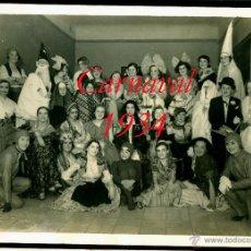 Fotografía antigua: CARNAVAL - BARCELONA - 1934 - FOTOGRAFIA SAGARRA Y TORRENTS. Lote 54314415