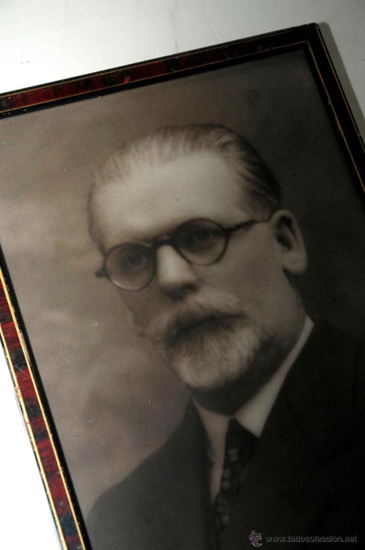 Fotografía antigua: retrato hombre barbudo - Foto 3 - 54343790