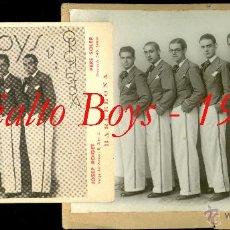 Fotografía antigua: JAZZ - BARCELONA - 1934 - RIALTO BOYS - FOTOGRAFIA Y PUBLICIDAD . Lote 54356008