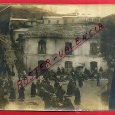 Fotografia antica: ANTIGUA FOTOGRAFIA DE LA CIUDAD DE LA PAZ , BOLIVIA, VISTA DE PLAZA Y MERCADO , ORGINAL , L . Lote 54440520