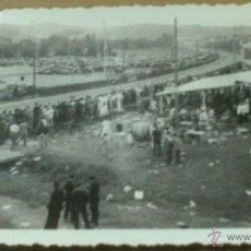 Fotografía antigua: FOTOGRAFIA DE UN CERTAMEN AUTOMOVILISTICO EN SAN SEBASTIAN, IGUELDO? SEPTIEMBRE DEL 1934. Lote 54498824