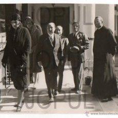 Fotografía antigua: SEVILLA. VISITA DE LA REINA VICTORIA EUGENIA AL PABELLON DE ARAGON. EXPO 1929. FOT. SERRANO. ORIGINA. Lote 54618091