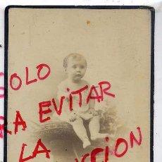 Fotografía antigua: FOTO NAPOLEON A.F. RETRATO NIÑA CON REVERSO TAMAÑO IMPERIAL. Lote 54874508