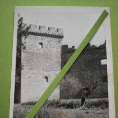Fotografía antigua: BURGOS FOTO CASTILLO DE SOTOPALACIOS FOTOGRAFÍA ANTIGUA ENVÍO GRATIS. Lote 54940615