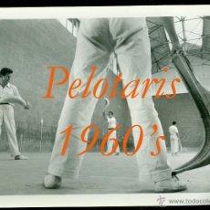 Fotografia antica: PELOTA VASCA - 1960'S - FOTOGRAFIA JULIO ORTAS - MADRID . Lote 54969157