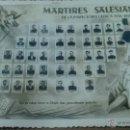 Fotografía antigua: MARTIRES SALESIANOS DE LA INSPECTORIA CELTICA MADRID 1936 1939, MEDIDAS 14,5 X 9,5 CM, AÑO 1961. Lote 55085443