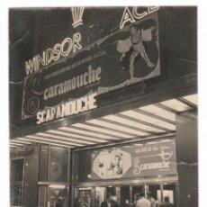 Fotografía antigua: BARCELONA, CINE WINDSOR, AV. DIAGONAL, AÑO 1952. 18X24 CM.. Lote 55094178