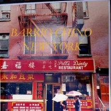 Fotografía antigua: NEW YORK - BARRIO CHINO - FOTOGRAFIA GRAN FORMATO - CLOSA MIRALLES. Lote 55150759