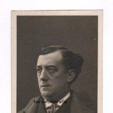 Fotografía antigua: LLEÓ FONTOVA (1875-1949) FOTÓGRAFO,ACTOR DE TEATRO, Y AUTOR. 8 X 15,5 CM. 1910 APROX.. Lote 55173906
