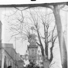 Fotografía antigua: MAGNIFICA PLACCA FOTOGRAFICA DE CRISTAL 9X12 GAYATA CALLE SAN FELIX CASTELLON 1945. Lote 56619739