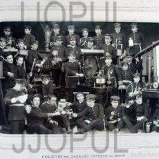 Fotografía antigua: DAVID. COLEGIO DEL S. C. DE JESUS. CARRION DE LOS CONDES. PALENCIA. INSTRUMENTOS CIENTIFICOS. 1889. Lote 56976407