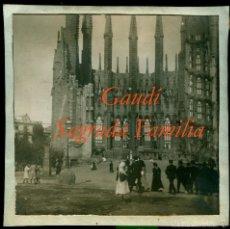 Fotografía antigua: GAUDÍ - SAGRADA FAMILIA - 1920'S. Lote 57094944