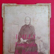 Fotografía antigua: VALLS - RETRATO - FOTOGRAFIA ROZADA - 1910'S. Lote 57124059