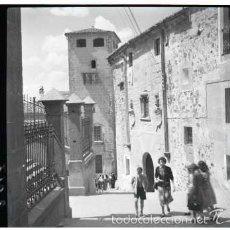 Fotografía antigua: CACERES. 5 NEGATIVOS FOTOGRAFICOS CELULOIDE 6X6. FOTÓGRAFO TURISTA FRANCÉS, AÑO 1954.. Lote 57124080