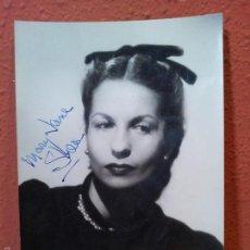 Fotografía antigua: FOTOGRAFIA BAILARINA BALLET - MARY JANE SHEA-AÑOS 40-AUTOGRAFO FIRMADA-------15 X 10 CM. Lote 57332236