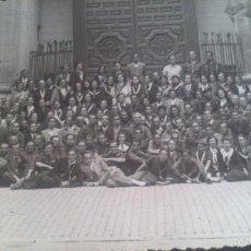 Fotografía antigua: PEREGRINACION A ZARAGOZA ANDANDO EN .EL AÑO 1939, FOTOGRAFA MARIA CHIVITE, ZARAGOZA.. Lote 57416824