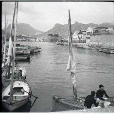 Fotografía antigua: CARTAGENA (MURCIA) 1954. NEGATIVO FOTOGRÁFICO B/N, 6X6 CM. ORIGINAL. INEDITO. PERFECTO.. Lote 57618350