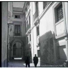 Fotografía antigua: MURCIA 1961. NEGATIVO FOTOGRÁFICO B/N, 6X6 CM. ORIGINAL. INEDITO. PERFECTO.. Lote 57626347