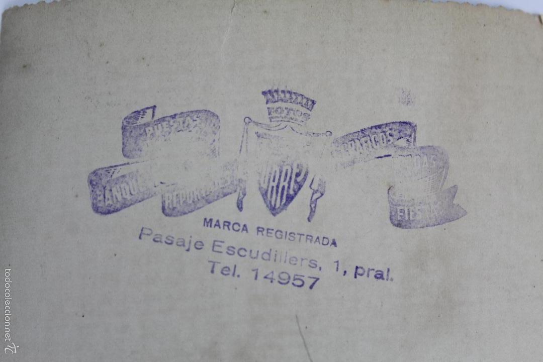 Fotografía antigua: F-2506. GRUPO DE PROFESORES Y EX ALUMNOS LA SALLE. AÑOS 50. BARCELONA - Foto 3 - 57648508
