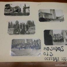 Fotografía antigua: 1933 MOJADOS VALLADOLID FOTOGRAFIA MILITAR FISTAS TOROS - 5 FOTOS. Lote 57793889