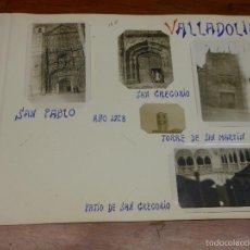 Fotografía antigua: 1928 VALLADOLID FOTOGRAFIA SAN PABLO PATIO GREGORIO TORRE SAN MARTIN - 5 FOTOS. Lote 57794044