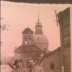 Fotografía antigua: FOTOGRAFIA TAMAÑO POSTAL, PAISANOS EN TALAVERA DE LA REINA AÑOS 40, FOTO PEREZ ALONSO. Lote 57807708