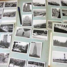 Fotografía antigua: LOTE DE 60 FOTOGRAFIAS DE BARCELONA DE LOS AÑOS 60 - MONTSERRAT - CULLERA - OBRAS SAGRADA FAMILIA. Lote 57811272