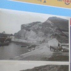 Fotografía antigua: DOS ANTIGUAS FOTOGRAFIAS ARMINTZA, LEMONIZ, VIZCAYA 17,5 X 12 CM,CORRIMIENTO DE TIERRAS, AÑO 1940. Lote 57920230