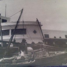 Fotografía antigua: GRAN FOTOGRAFIA 23,5 X 18 CM, BARBATE, CADIZ,, AÑO 1955 FOTOGRAFO DUBOIS, CADIZ.. Lote 58013183