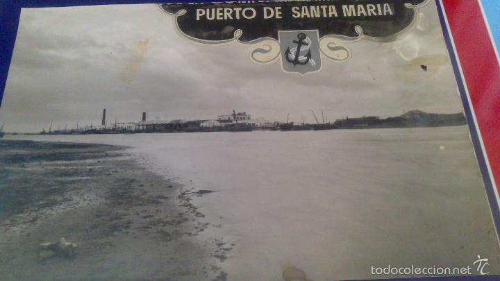 GRAN FOTOGRAFIA 22 X 14,5 CM CM, BARBATE, CADIZ,, AÑOS 1939, 41 FOTO DUBOIS. VER (Fotografía Antigua - Gelatinobromuro)