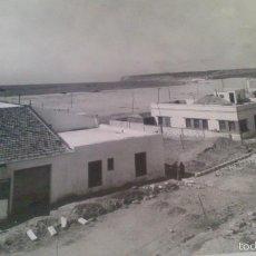 Fotografía antigua: GRAN FOTOGRAFIA 23 X 18 CM CM, PLAYA DE BARBATE, CADIZ.. Lote 58013508