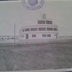 Fotografía antigua: FOTOGRAFIA 17 X 12 CM CM, LONJA DE BARBATE, CADIZ.. Lote 58013616