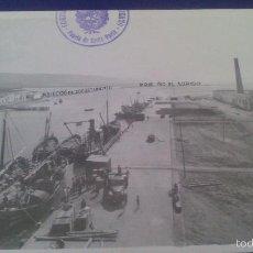 Fotografía antigua: FOTOGRAFIA 17 X 12 CM CM, PUERTO DE BARBATE, CADIZ.. Lote 58013664
