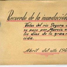 Fotografía antigua: MURCIA. ALBUM CON 16 IMPRESIONANTES FOTOGRAFÍAS DE LA INUNDACIÓN QUE SUFRIO MURCIA EN ABRIL DE 1946.. Lote 58223967