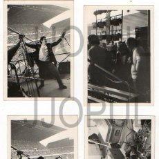 Fotografía antigua: MIGUEL RIOS CONCIERTO DE GIJÓN EN EL MOLINÓN. 1983. DESDE EL ESCENARIO. LOTE DE 7 FOTOS. ASTURIAS. . Lote 58252787