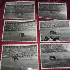 Fotografía antigua: ANTIGUAS 12 FOTOGRAFIAS,CORRIDA DE TOROS,DE LOS AÑOS 30-40 PLAZA DE TOROS DE SEVILLA. Lote 58283864