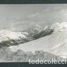 Fotografía antigua: ANDORRA. CARRETERA. MONTAÑAS. NIEVE. 1962. Lote 61494671