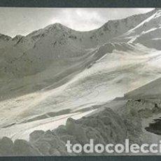 Fotografía antigua: ANDORRA. CARRETERA. MONTAÑAS. NIEVE-1. 1962. Lote 61495107