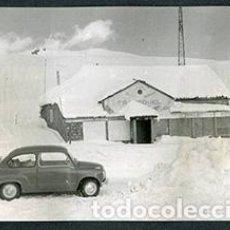 Fotografía antigua: ANDORRA. CARRETERA. PUERTO DE MONTAÑA Y SEISCIENTOS. MONTAÑAS. NIEVE-3. 1962. Lote 61496219