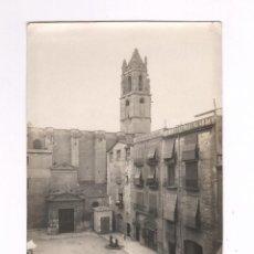 Fotografía antigua: REUS, PROV. DE TARRAGONA, 1910 APROX. PLAZA DEL CASTILLO, 10X15 CM.. Lote 134308178