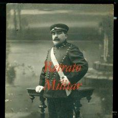 Fotografía antigua: RETRATO - GUARDA - 1910'S - BARCELONA - FOTOGRAFIA AMER . Lote 63019240