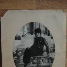 Fotografía antigua: FOTOGRAFIA DE JOVEN - FOTOGRAFO GONZALEZ RAGEL - AÑO 1920. Lote 63567764
