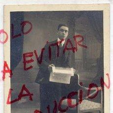 Fotografía antigua: FOTO J.ALONSO BARCELONA TAMAÑO POSTAL CON REVERSO. Lote 63688803