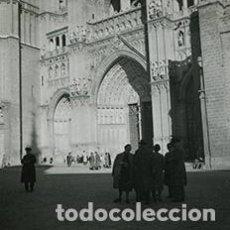 Fotografía antigua: TOLEDO. CATEDRAL DE TOLEDO. 17 DE NOVIEMBRE 1955. Lote 64189895