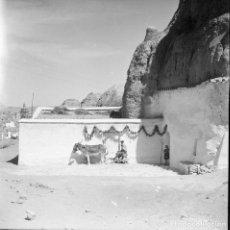 Fotografía antigua: GUADIX GRANADA AÑOS 40 NEGATIVO CELULOIDE 6 X 6 CMTS. Lote 64414555