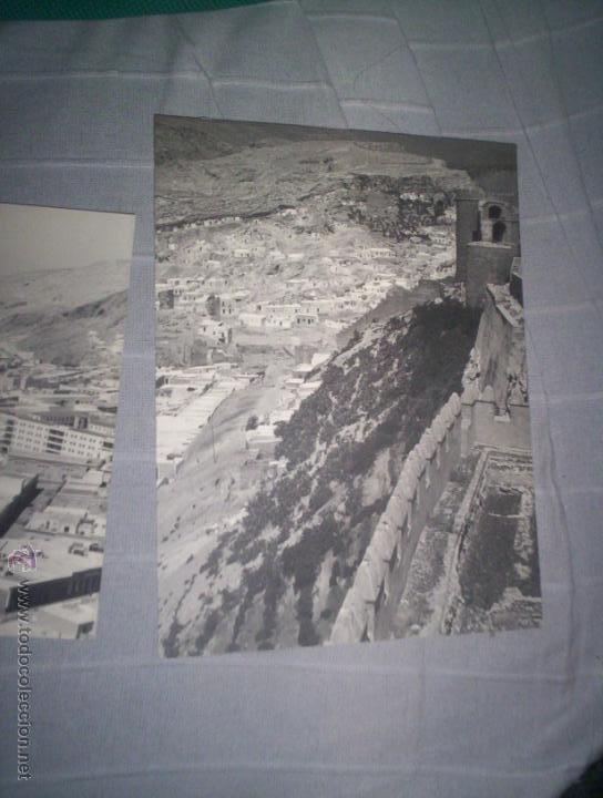 Fotografía antigua: lote dos fotos almeria c.1930-40 vistas generales 24 x18 cm. - Foto 2 - 46435791