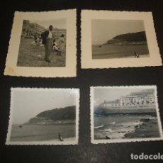 Fotografía antigua: SAN SEBASTIAN 1937 GUERRA CIVIL CONJUNTO 6 FOTOGRAFIAS POR SOLDADO ALEMAN DE LA LEGION CONDOR. Lote 67199621