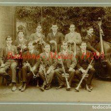 Fotografía antigua: BADALONA - MÚSICS - COBLA - 1920'S. Lote 69114549