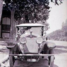 Fotografía antigua: AUTOMOVILISMO. PRECIOSO COCHE DE LOS AÑOS 20. BARCELONA. NEGATIVO DE ACETATO. Lote 69482705